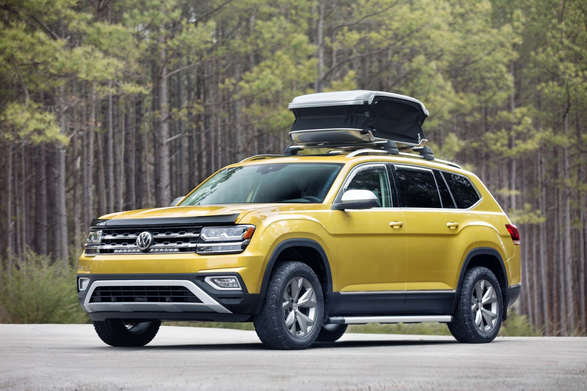 The allnew 2018 Volkswagen Atlas Weekend Edition concept