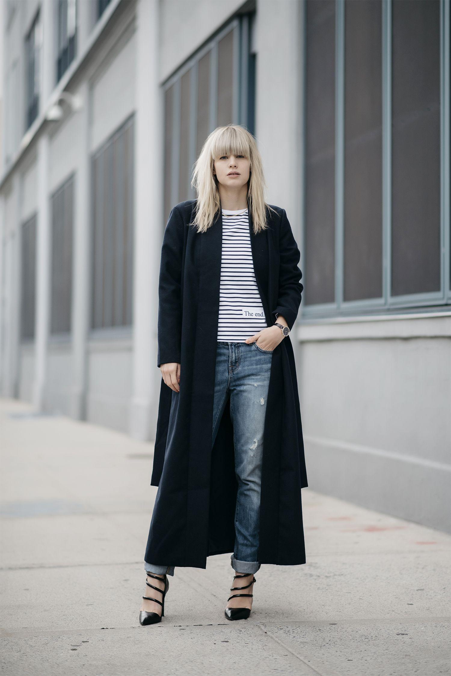 Hagen Just Another Fashion Blog Cool Street Fashion Fashion Black Sweater Coat