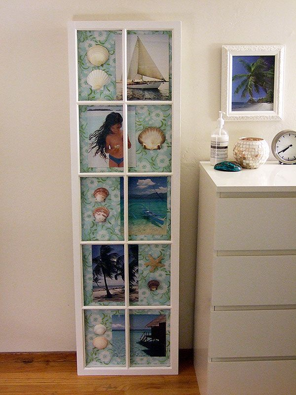 DIY:: Salvaged window TO shadowbox frame. Doesn\'t have to be this ...