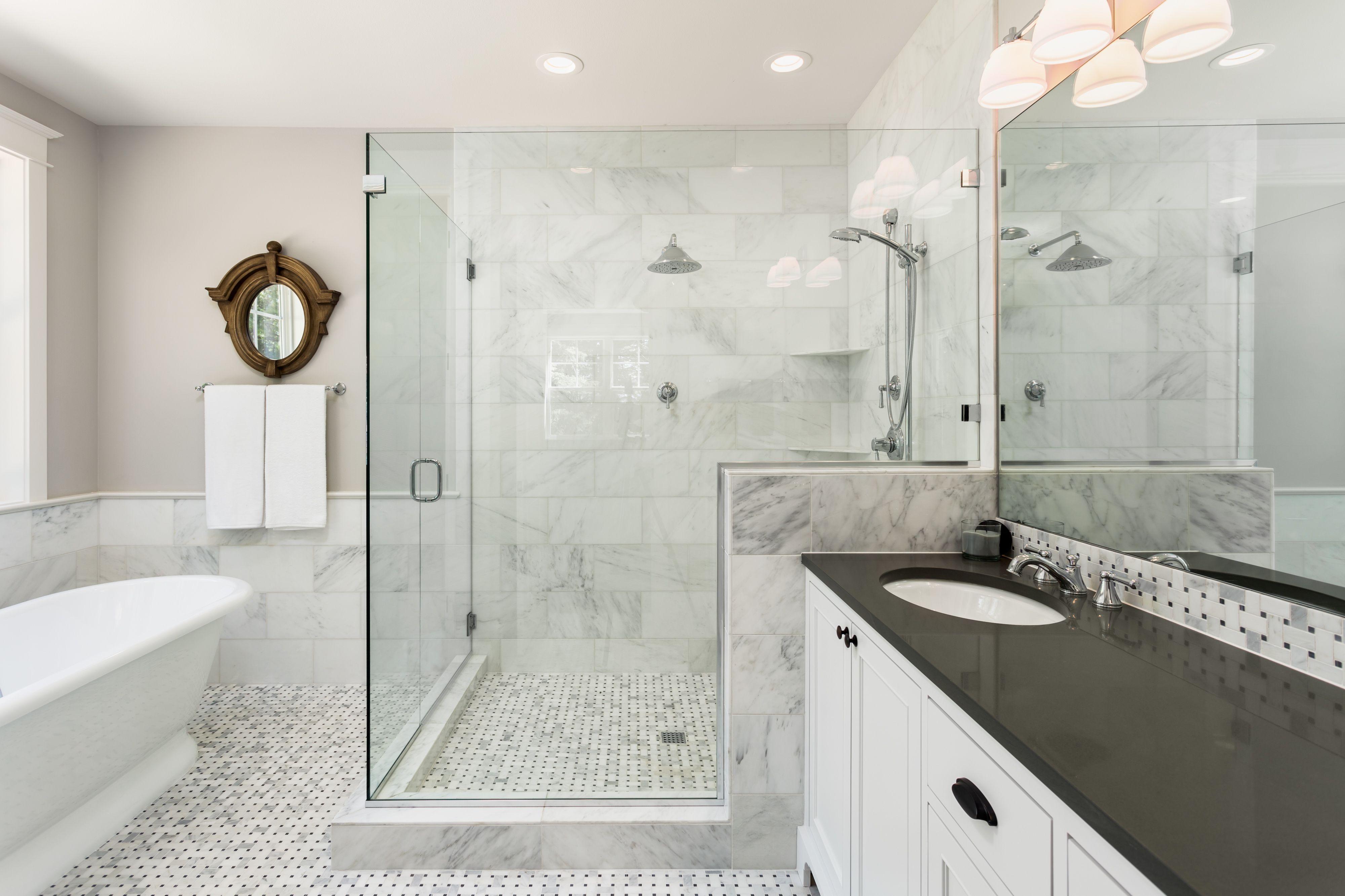 23 Doorless Shower Ideas Walk In With Images Bathrooms
