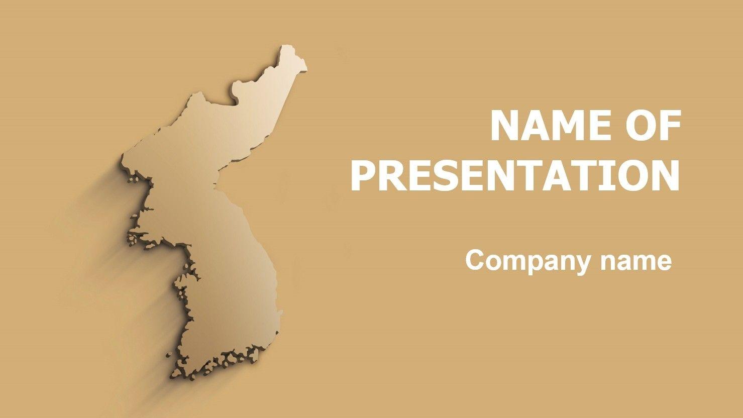 Korea powerpoint template l pinterest korea template and korea powerpoint template toneelgroepblik Image collections