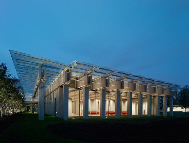 Kimbell Art Museum Addition Renzo Piano Building Workshop