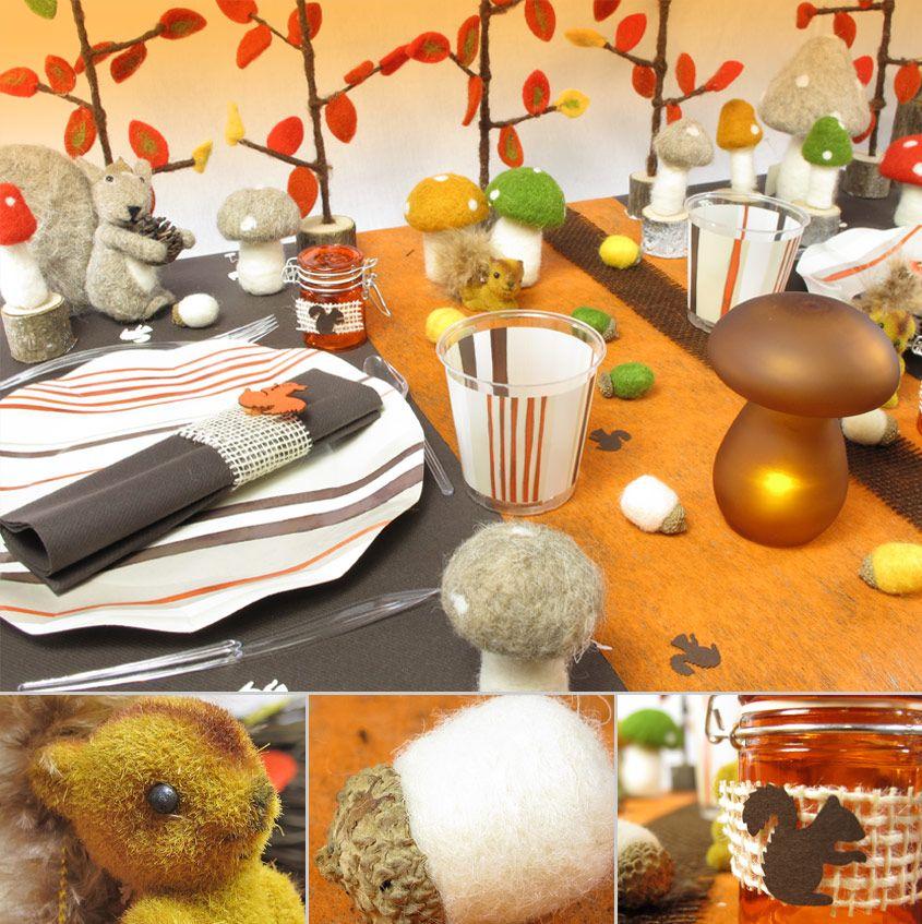 Habillez votre table aux couleurs de l 39 automne - Deco table automne ...