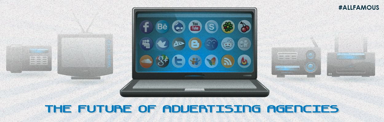 The Future of #Advertising Agencies.   The advent of #digital marketing is changing the way we see advertising and audience engagement and it is challenging the age-old advertising paradigms