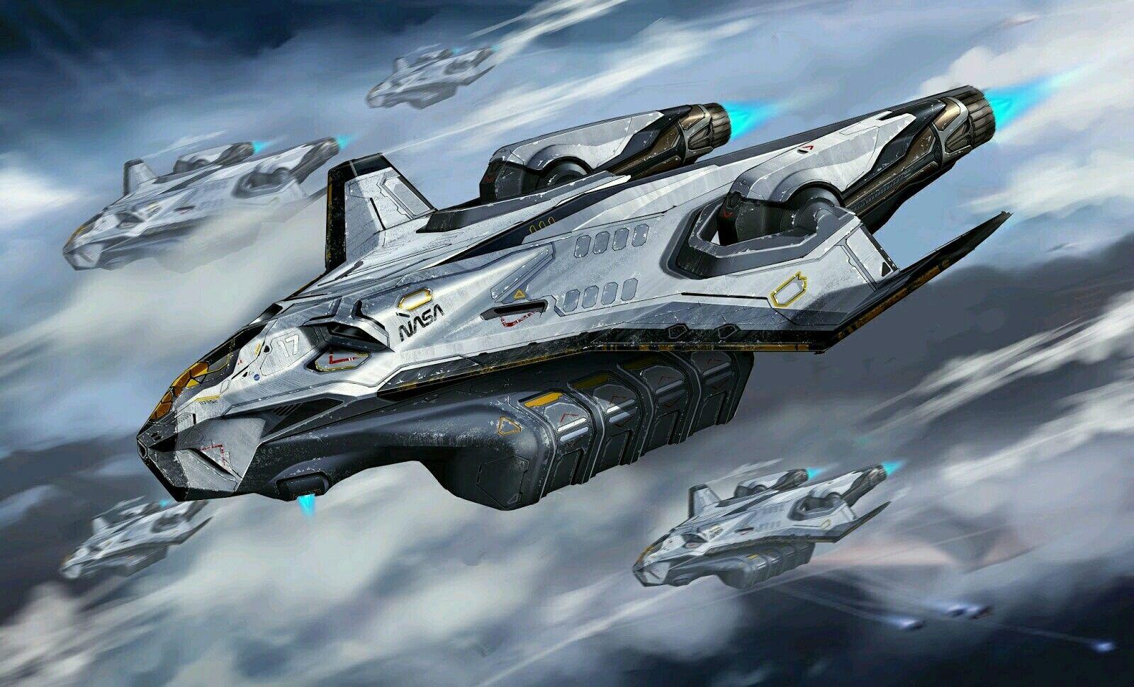 Pin by Ruslan Ganiyev on Sci-Fi Ships Concepts | Space ...