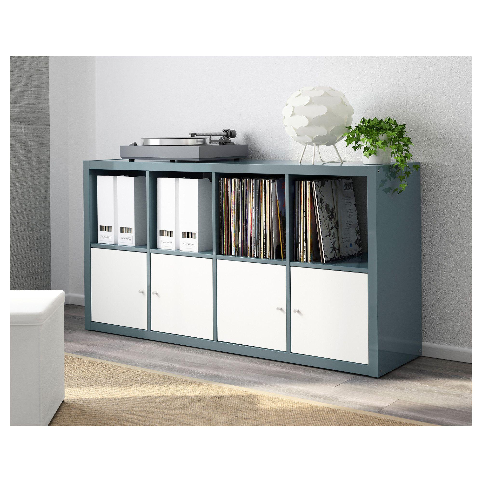 Kallax Shelf Unit Black Brown 30 3 8x57 7 8 Ikea Kallax