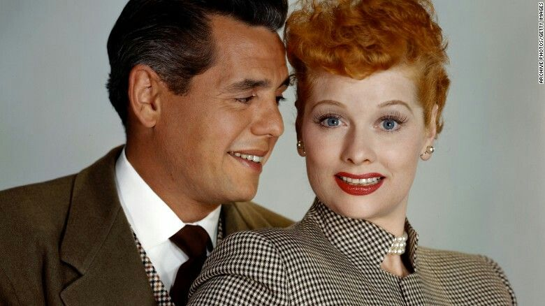 Lucille Ball and Desi Arnez