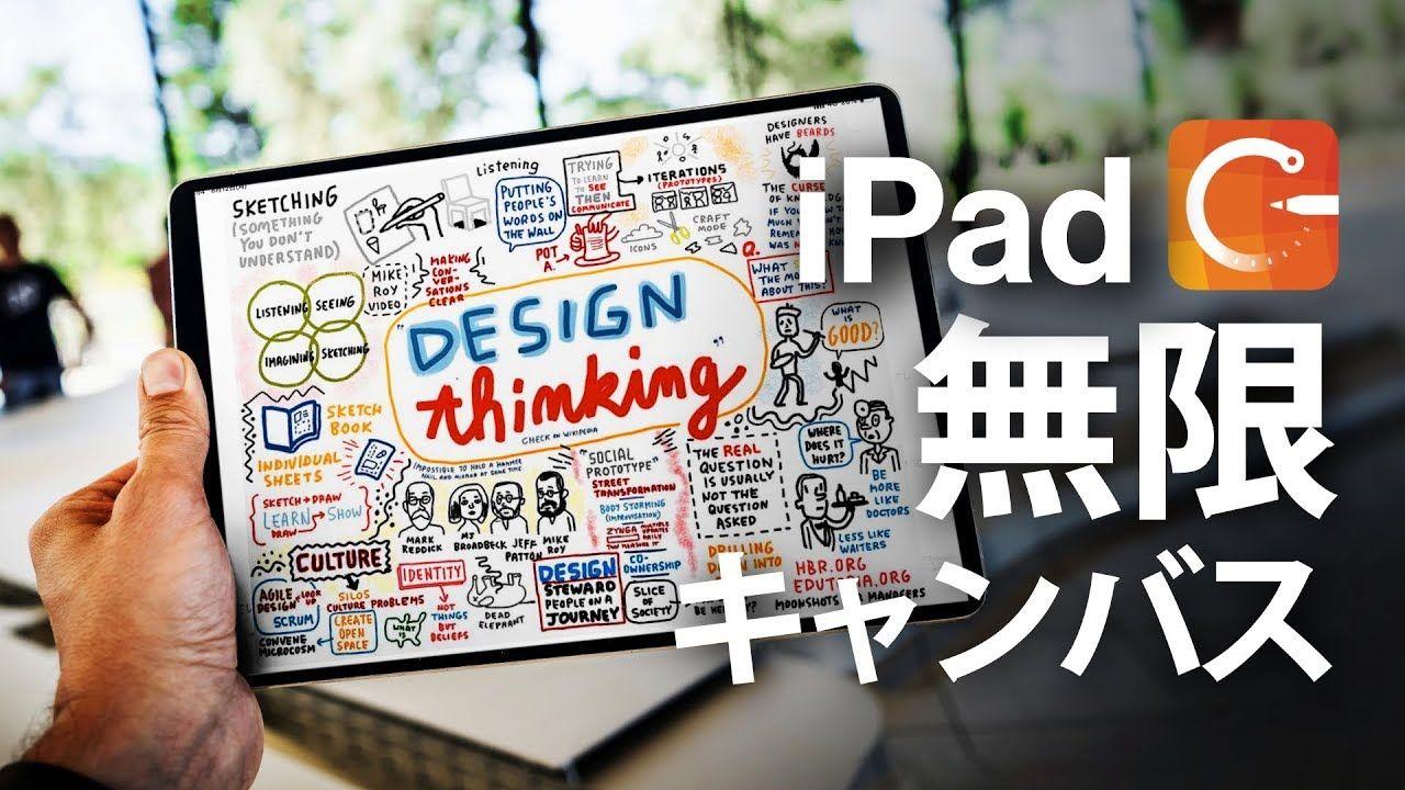 無限に書けるノートアプリ Conceptの使い方 全部まとめ Ipad