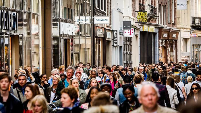 Drukte in de binnenstad kan paniek veroorzaken - Parool.nl