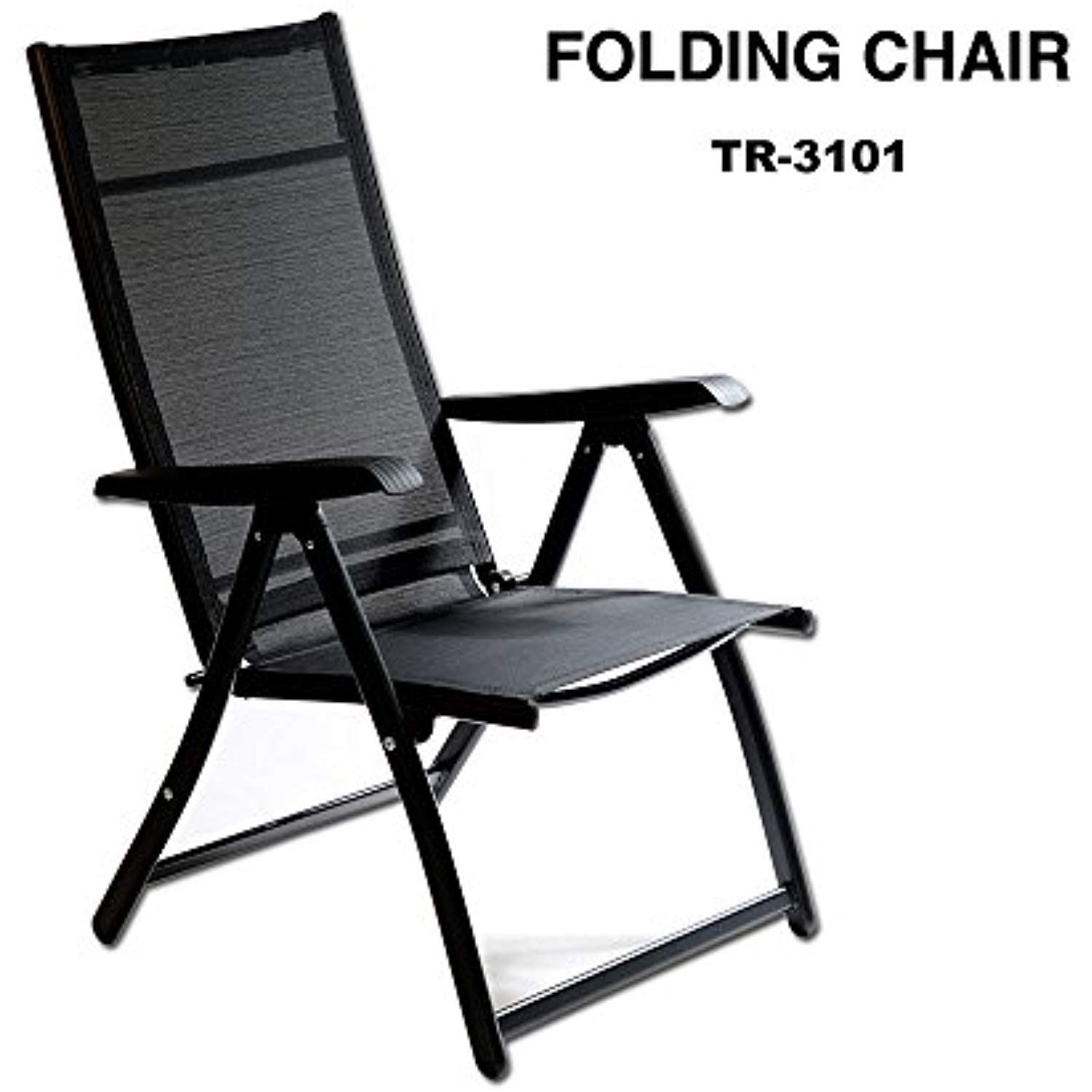 Miraculous Heavy Duty Durable Adjustable Reclining Folding Chair Machost Co Dining Chair Design Ideas Machostcouk