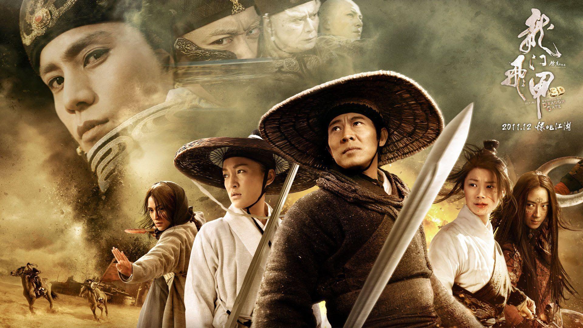 Flying Swords of Dragon Gate Full HD (Engsub) Jet Li