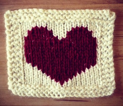 A Knitting Pattern for Valentines Day | Valentine\'s Day Knitting ...