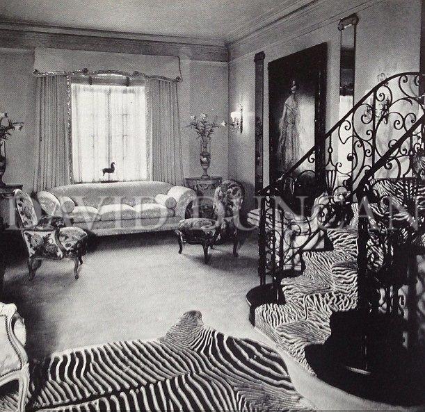 Regency Park Apartments Office Hours: Actress Hope Hampton's Park Avenue Apartment Designed By