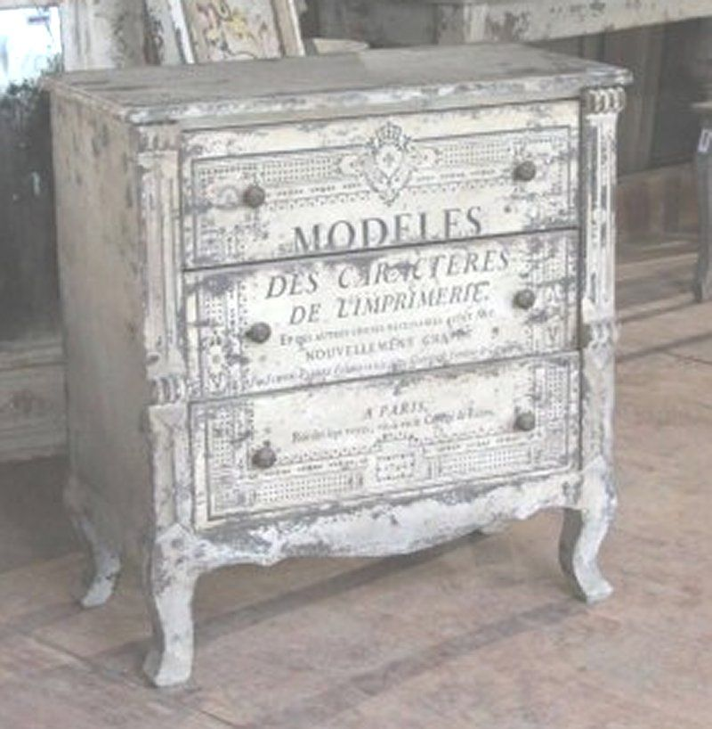 shabby chic stil alte kommode antike m bel shabby. Black Bedroom Furniture Sets. Home Design Ideas