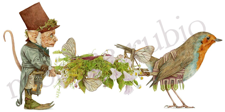 Fairies Funeral, Montse Rubio