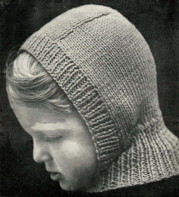 Instant Download Balaclava And Toque Knitting Pattern Hats For