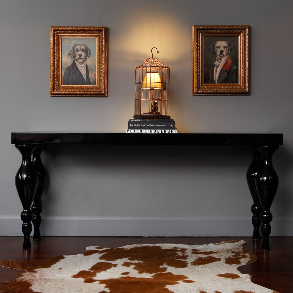 black hall console table. Beetlejuice High Gloss Black Console Table By The French Bedroom Company Hall Z