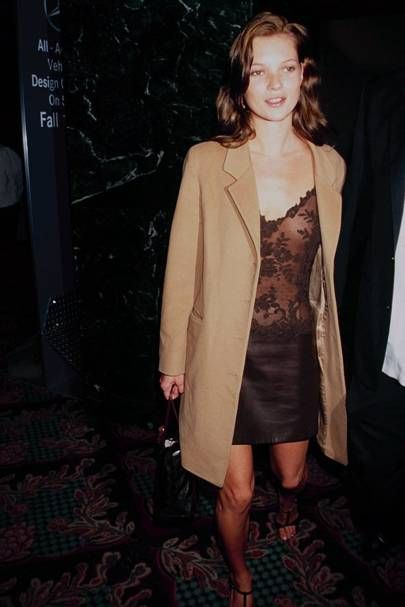 A magazine rejected this never-before-seen photo of Kate Moss in the 90s because they didn't think she could compete with the Supers