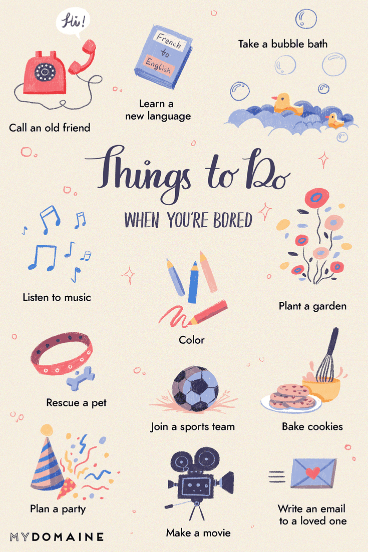 95 Things to Do When You're Bored