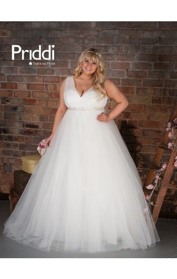 Plus size and princess style, so super cute | plus size wedding ...