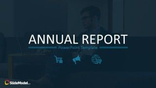 Annual Report PowerPoint Template - SlideModel #annualreports