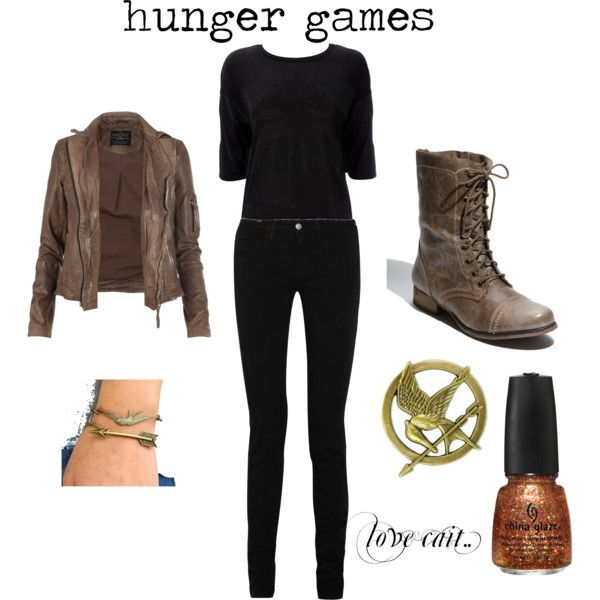 Hunger games, created by caitlinnbroadwell on Polyvore