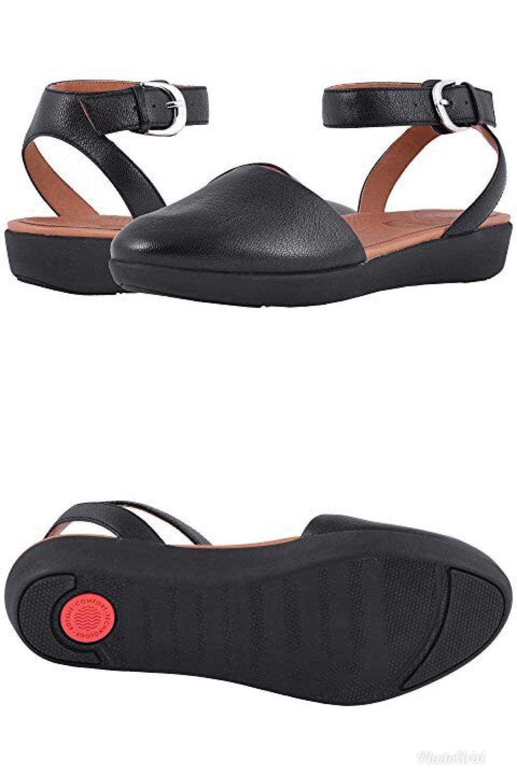 84e91ceaf $120.00 Get fired up for a fashionable season with FitFlop®'s cute and  casual Cova Closed Toe Sandals. Soft suede uppers with a round toe.
