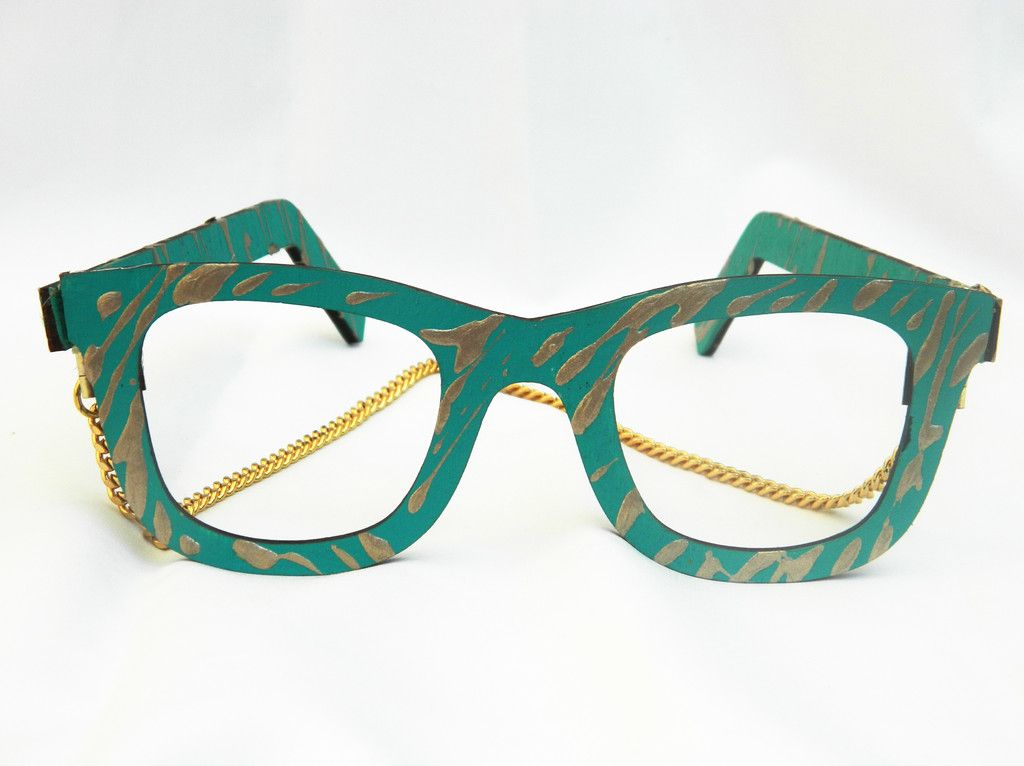Face Frames in Teal & Gold by Vivienne Kelly #dope