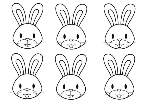 Turbo lapin-pour-panier.jpg | Line drawings for Embroidery - Bunnies  JM09