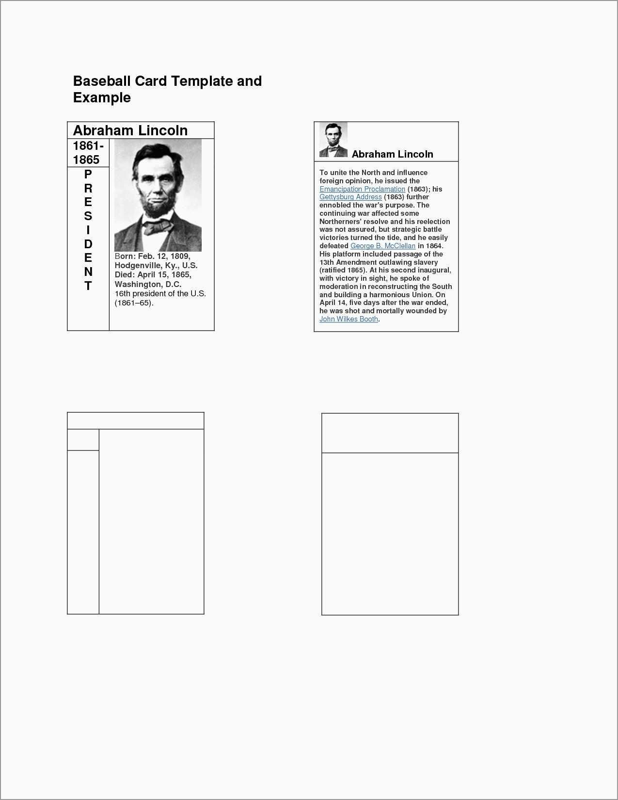The marvelous 026 Free Baseball Card Template Pleasant