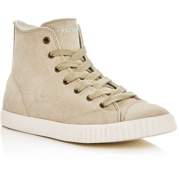 Tretorn Match3 High Top Sneakers (€87) ❤ liked on Polyvore featuring shoes,