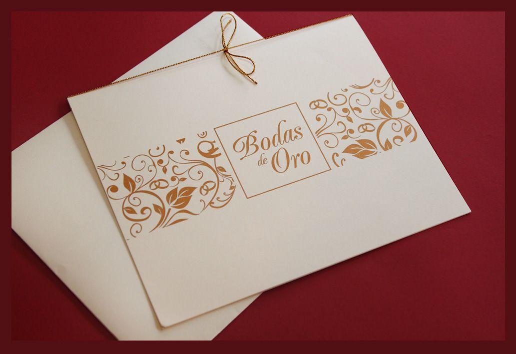 Invitaciones Bodas De Oro Para Imprimir Gratis