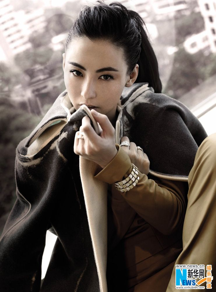 Hong Kong actress Cecilia Cheung poses for fashion magazine ICON  http://www.chinaentertainmentnews.com/2015/06/cecilia-cheung-poses-for-fashion.html