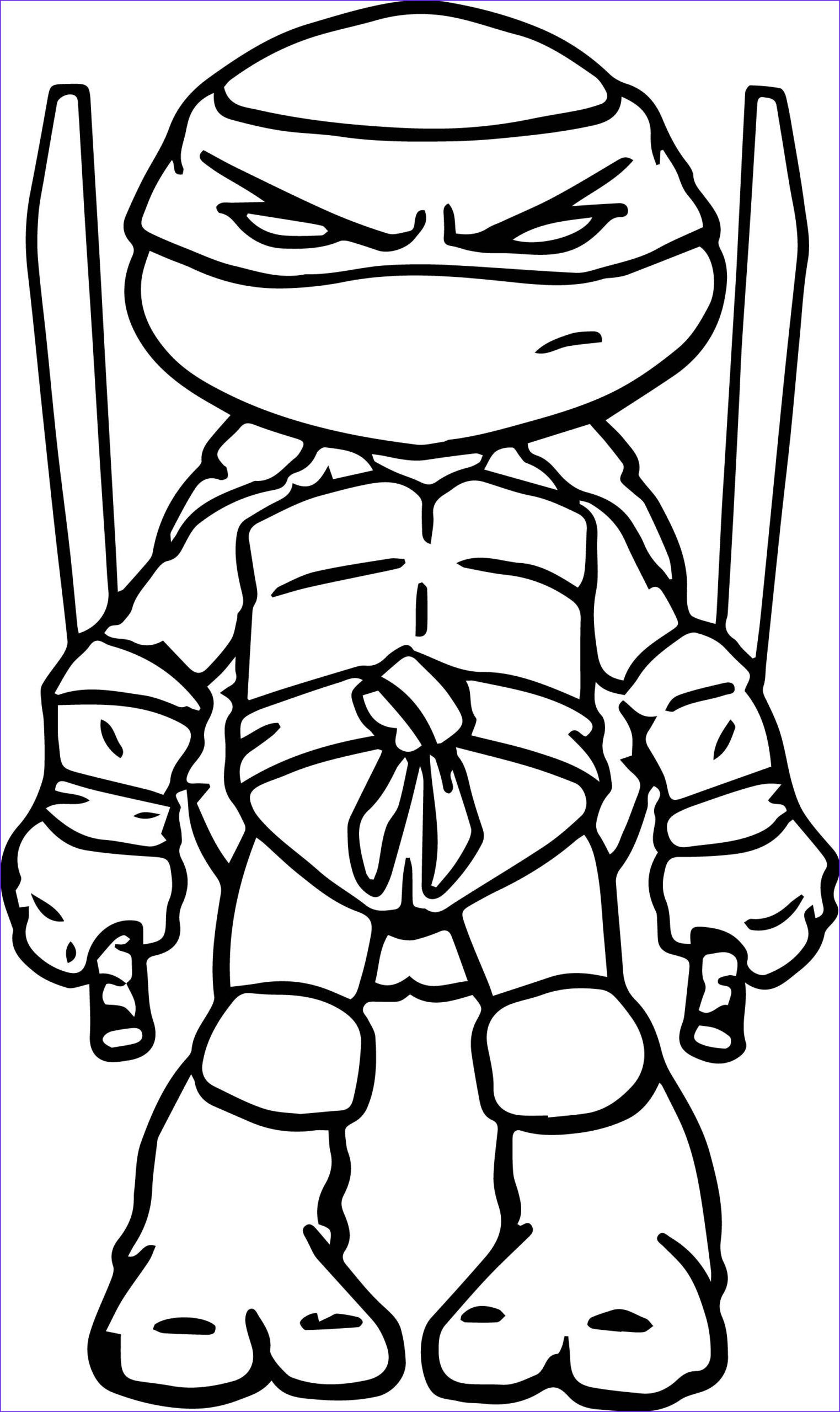 45 Inspirational Gallery Of Ninja Turtles Coloring Pages