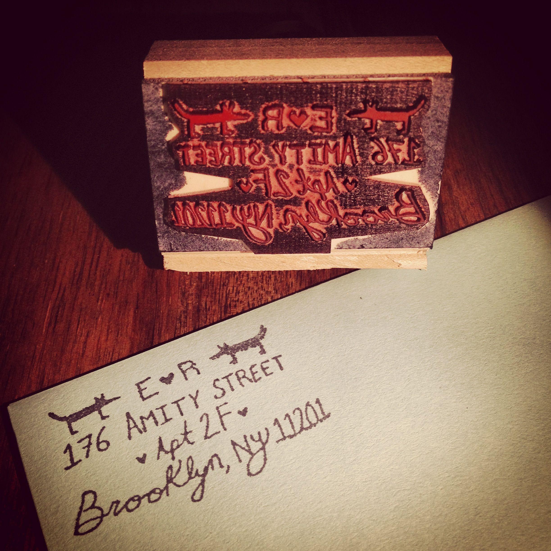Designed a stamp! Fox * Illustration * Wedding * Invitations | Fox ...