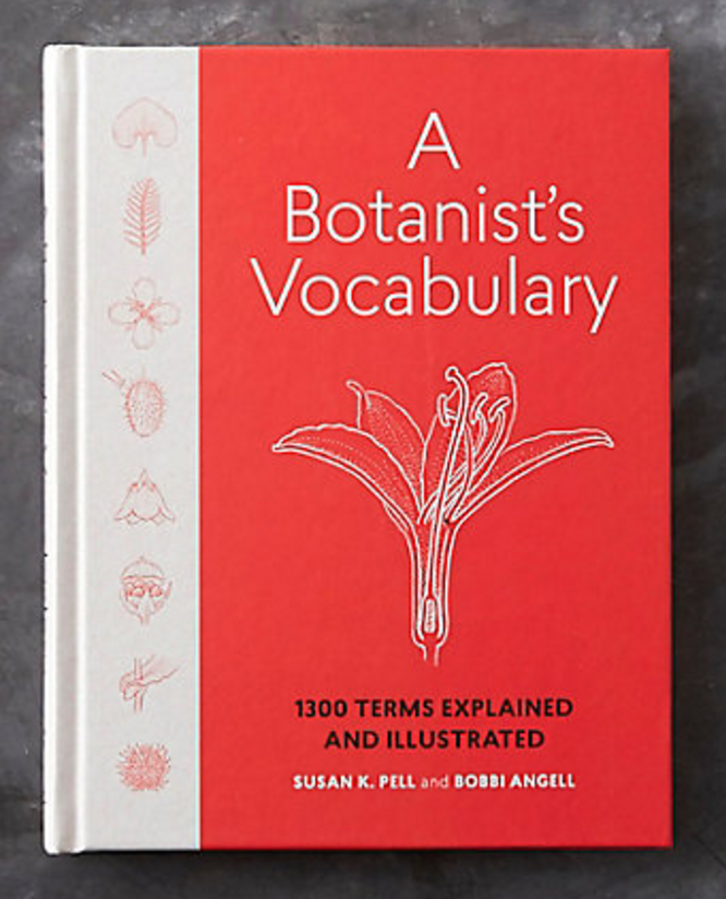 a botanist's vocabulary