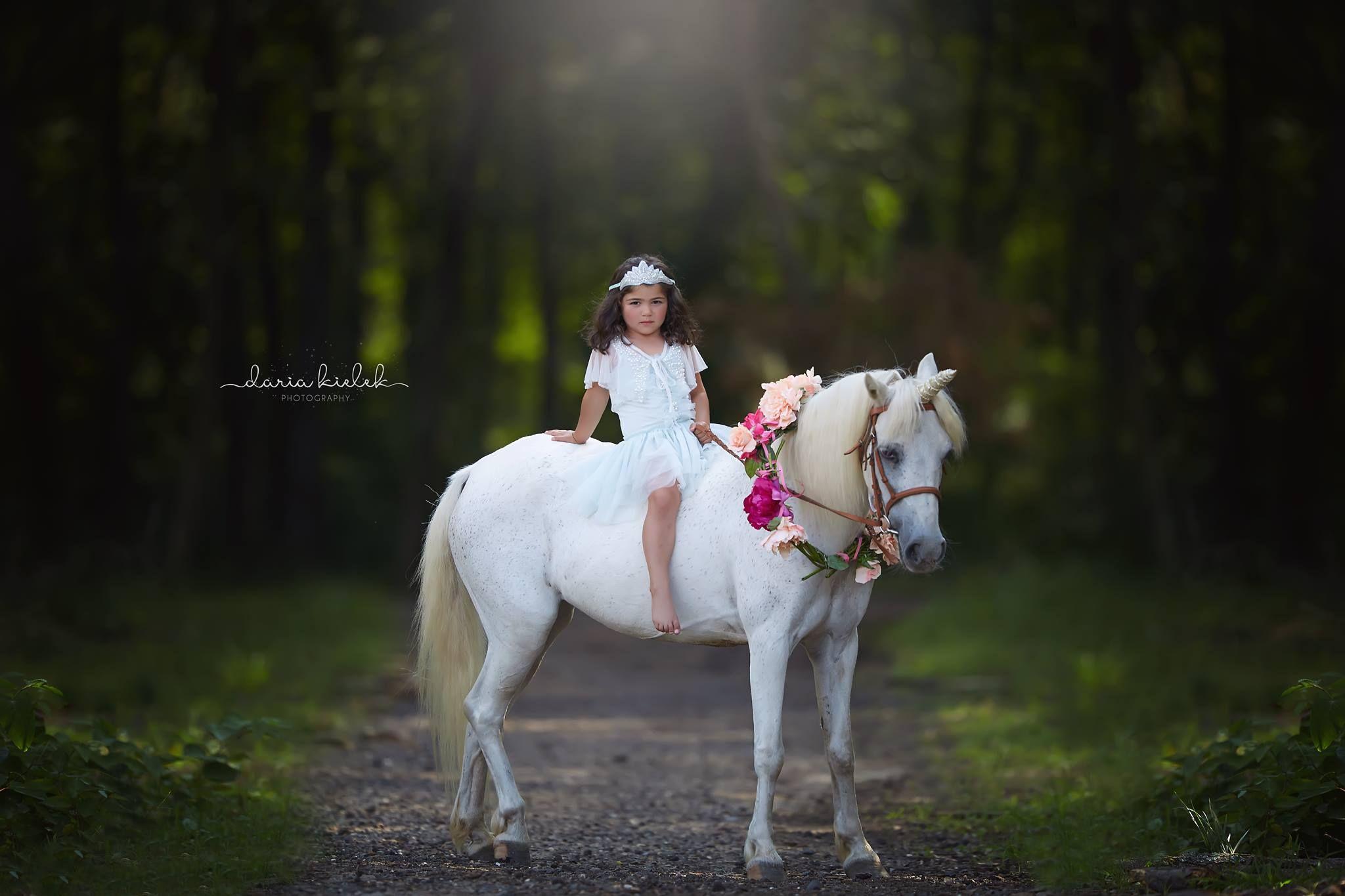 A princess and her unicorn tutu du monde tutu dress and