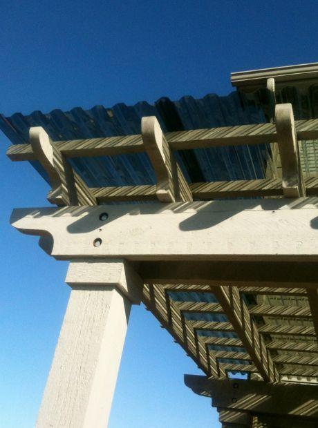 Corrugated Rain Roofing Panels Quality Built Pergolas Pergola Outdoor Pergola With Roof