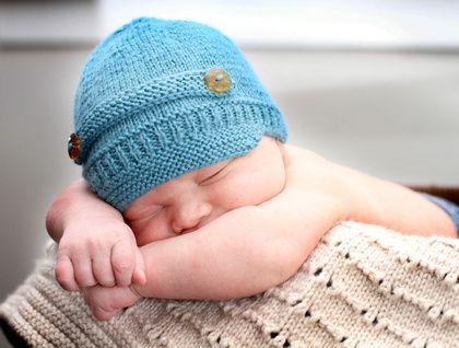 Knit Newsboy Hat Pattern Baby Hat