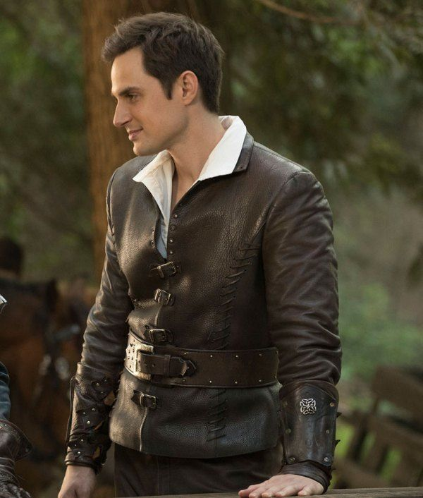 Henry Mills Once Upon A Time Leather Jacket Christmas Sale