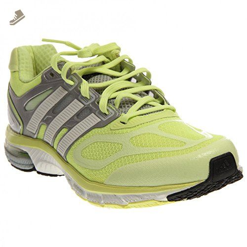 adidas Running Women\u0027s Supernova Sequence 6 W Glow/Running White/Metallic  Silver 10.5 B