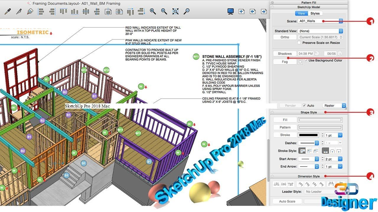 How To Download SketchUp Pro 2018 Mac Free | win-mac | Free Download ...