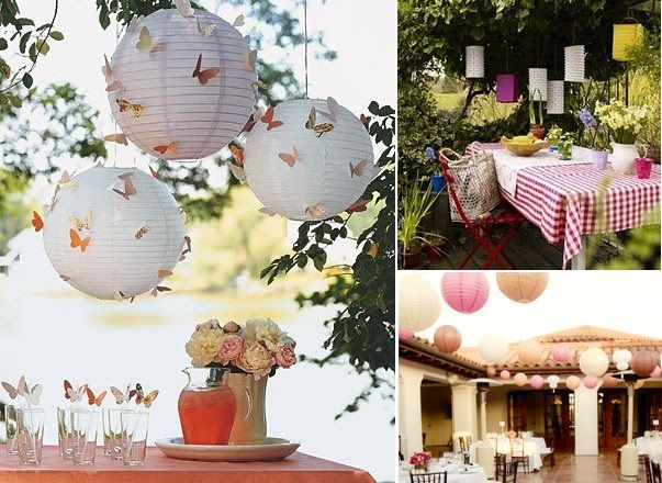 Amazing Paper Lanterns For Inexpensive Wedding Decorations | Wedding To Be