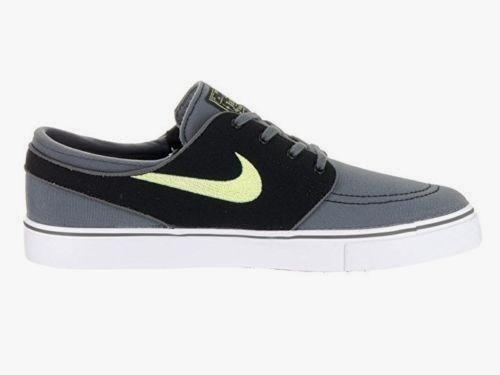 Nike SB Zoom Stefan Janoski Canvas Skate Shoes Mens 10 Dark Grey Volt  615957 070  Nike  SkateShoes 9368c765eb40