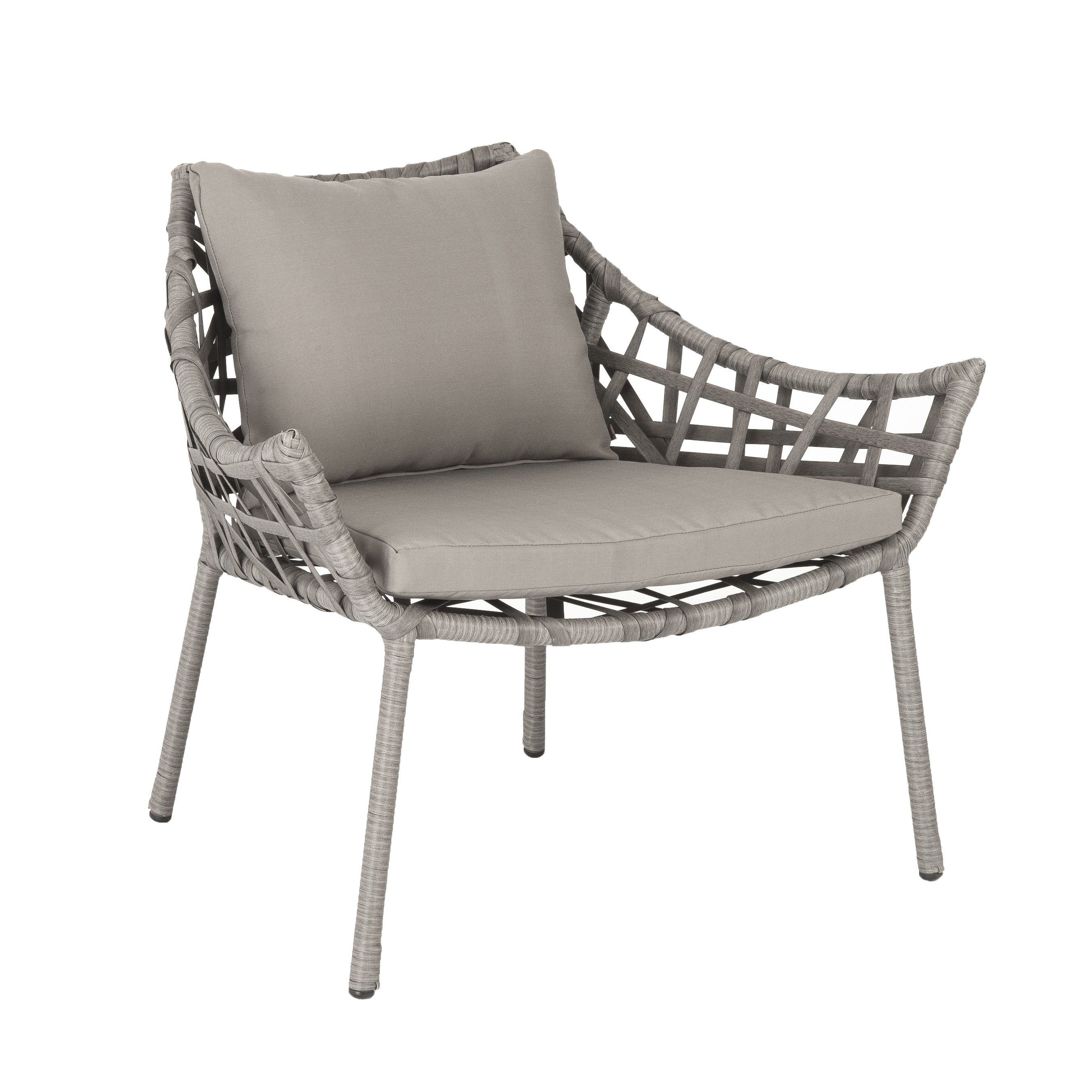 Gazelle Lounge Chair   Taupe By Euro Style   FILL IN