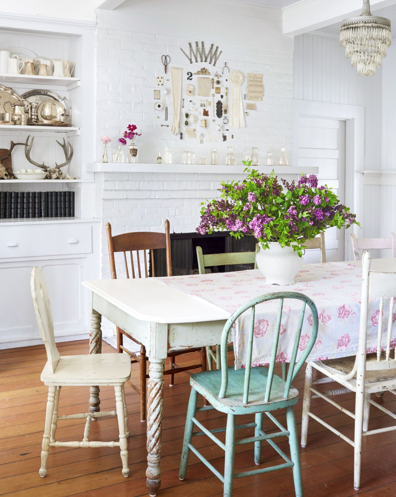 Dining Room Addition Home Design Ideas Pictures Remodel And Decor: 16 Vintage Decorating Ideas From Inside A 19th-Century California Farmhouse
