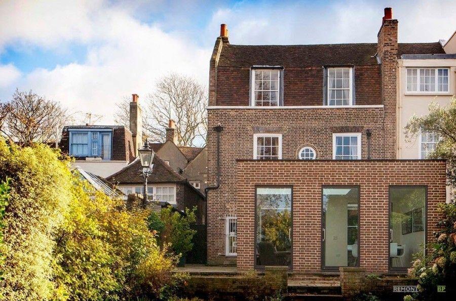 100 лучших идей: красивые фасады домов из кирпича на фото ...