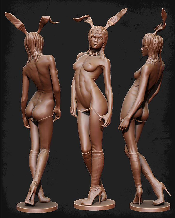 Boris Moskalenko digital sculpture Woman anatomy study | Anatomia ...