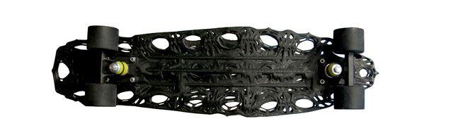 cavity skateboard 3D Printed
