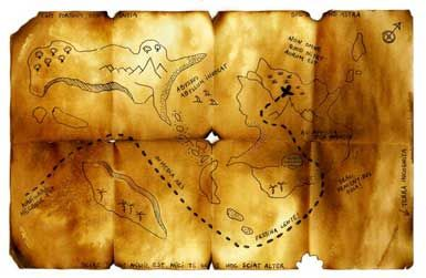 Real Old Treasure Maps | MarkerMap » Blog Archive 7 World ...